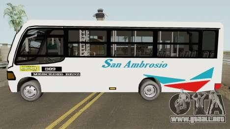 Metalpar Mercedes-Benz 809 para GTA San Andreas