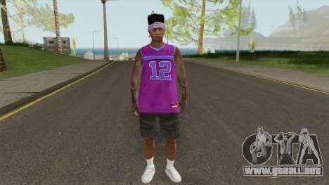 Skin Random 124 (Outfit Lowrider) para GTA San Andreas