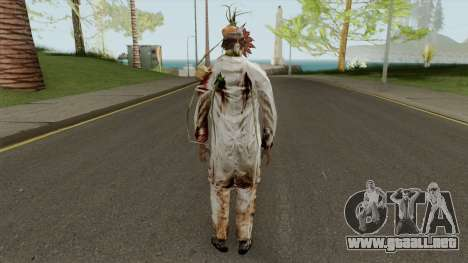 Green Zombie from Resident Evil: Outbreak File 2 para GTA San Andreas