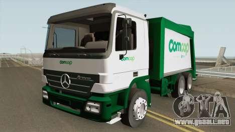 Mercedes-Benz Actros Trash Prefeitura de Florian para GTA San Andreas