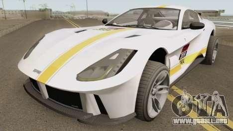 Grotti Itali GTO (812 Superfast Style) GTA V IVF para GTA San Andreas
