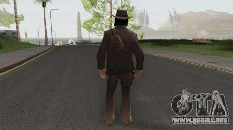 John Marston Elegant Outfit From RDR 2 V2 para GTA San Andreas