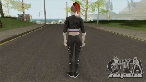 Skin From Amazing Player Female Mod para GTA San Andreas