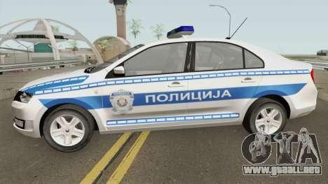 Skoda Rapid Policija para GTA San Andreas