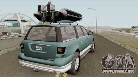 Vapid Prospector Normal V2 GTA V IVF para GTA San Andreas