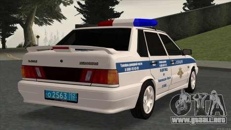 2115 SOBRE LA POLICÍA DE TRÁFICO para GTA San Andreas