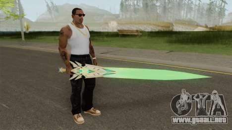 Xenoblade Chronicles 2 Myrtha Sword para GTA San Andreas