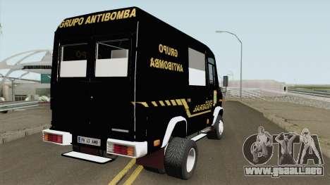 Mercedes-Benz Vario 512D Policia Federal para GTA San Andreas