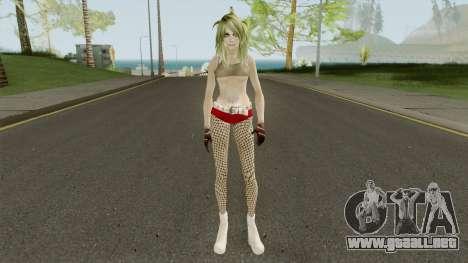 Badgirl Fishnets (Low Poly) para GTA San Andreas