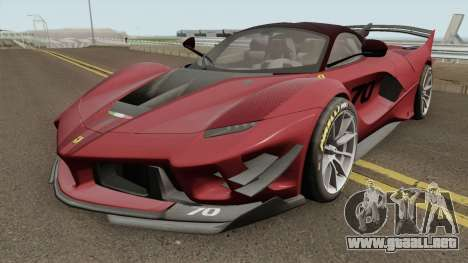 Ferrari FXX-K Evo 2018 para GTA San Andreas