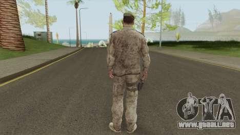 Sherman Barclay from Crysis 2 para GTA San Andreas