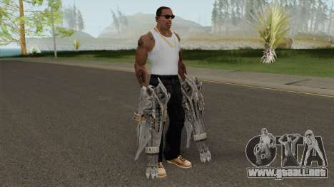 Shockwave Gun para GTA San Andreas