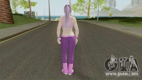 Ayane (Sport Leggings) From DOA5LR para GTA San Andreas