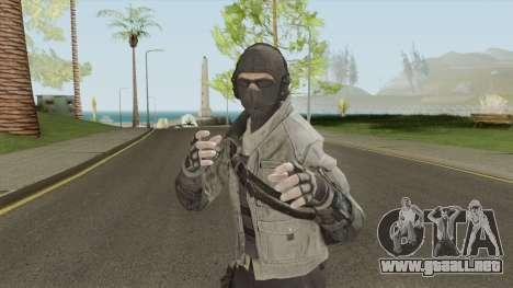 ISA Sniper (Call of Duty: Black Ops 2) para GTA San Andreas