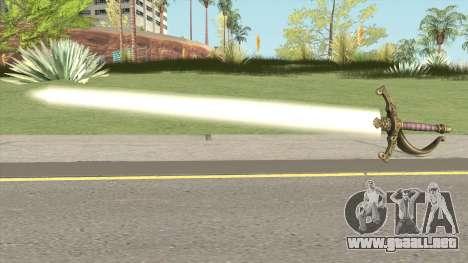 Scarlet Lumberg Sword para GTA San Andreas