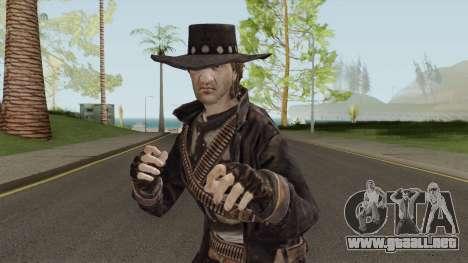 Ray McCall From Call of Juarez para GTA San Andreas