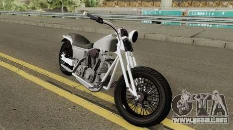 Western Motorcycle Wolfsbane GTA V para GTA San Andreas