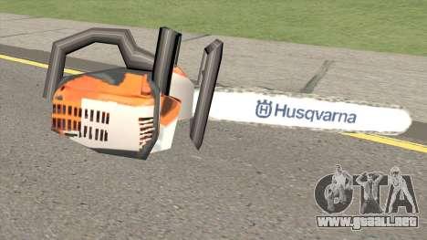 Chainsaw Husqvarna para GTA San Andreas