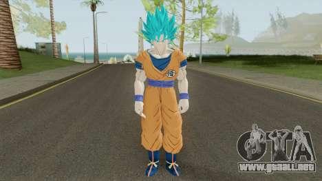 Goku SSJ Blue para GTA San Andreas