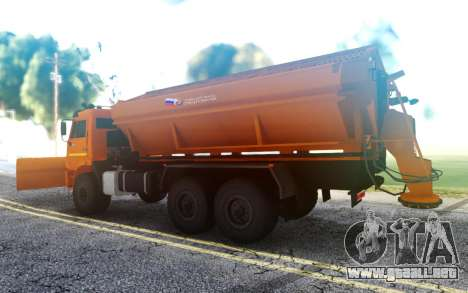 KAMAZ 43118 Combinado de coches de carretera para GTA San Andreas