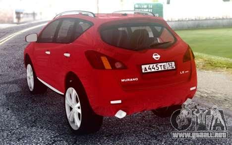 Nissan Murano para GTA San Andreas