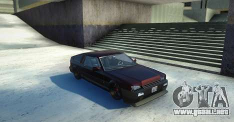 Blista Compact Low para GTA San Andreas