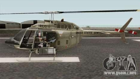 Bell OH-58A Kiowa para GTA San Andreas