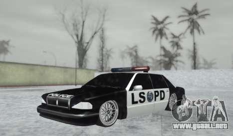 Police LS Low para GTA San Andreas
