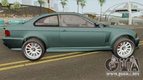 Ubermacht Sentinel Retro GTA V IVF para GTA San Andreas