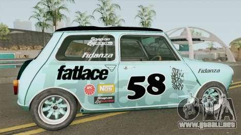 Mini Cooper S Gymkhana From Dirt: Showdown para GTA San Andreas