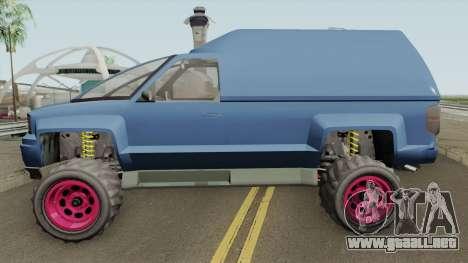 Declasse Brutus Cleaner GTA V IVF para GTA San Andreas