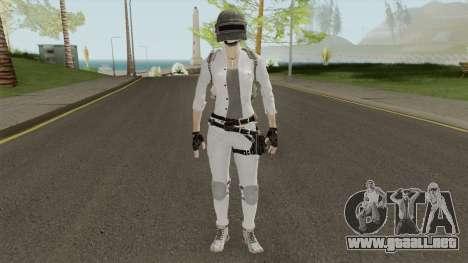 PUBG Girl Skin para GTA San Andreas