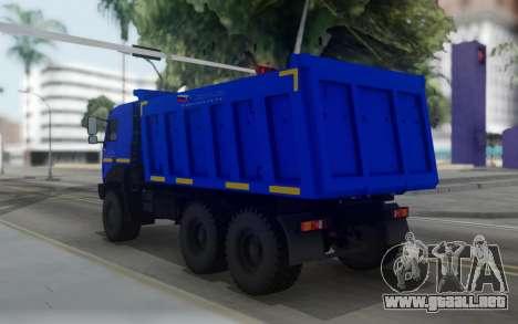 Ural 6370К-0121-30Е5 para GTA San Andreas
