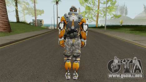 Cyborg 76 From Overwatch para GTA San Andreas