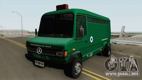Mercedes-Benz 609D Gendarmeria De Chile para GTA San Andreas