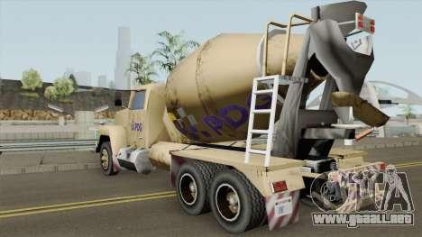 Cement - Caminhao de Cimento PDG para GTA San Andreas