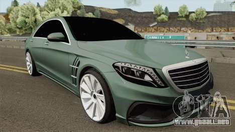 Mercedes-Benz S-Class W222 WALD Black Bison para GTA San Andreas