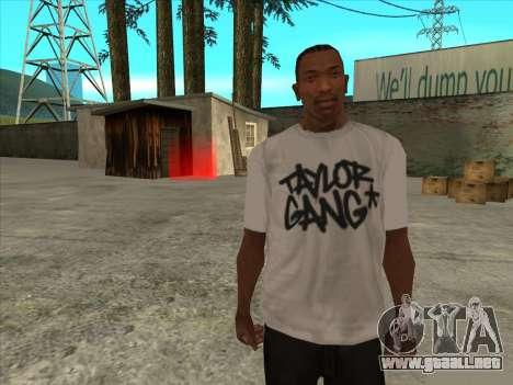 T-Shirt Fantasma para GTA San Andreas
