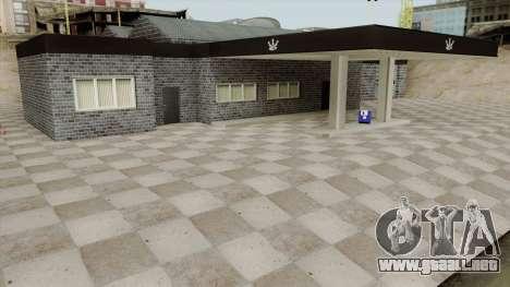Platinum Motorsport Garage para GTA San Andreas