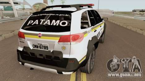 Fiat Palio Weekend Locker Patamo V2 para GTA San Andreas