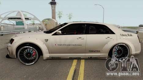 Chrysler 300 SRT8 Liberty Walk LB Performan 2012 para GTA San Andreas