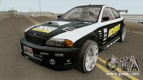 Ubermacht Sentinel Custom GTA V para GTA San Andreas