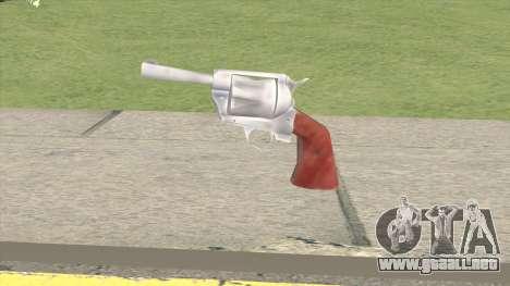Lowpoly Revolver para GTA San Andreas