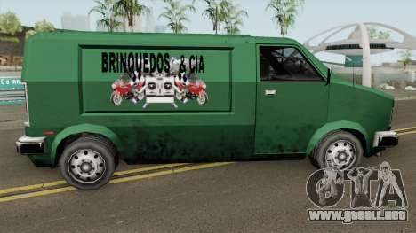 Topfun Van Normal (Brinquedos) TCGTABR para GTA San Andreas