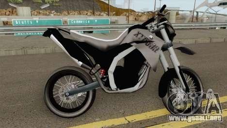 Yamaha XT660r Leve para GTA San Andreas