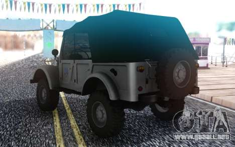 GAZ-69 Agricultor Simulador de 2015 para GTA San Andreas