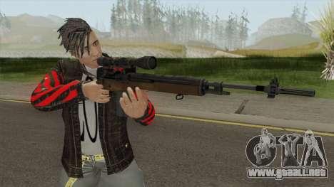 M14 Sniper HQ para GTA San Andreas