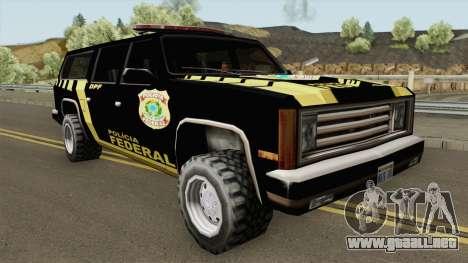 Fbiranch - Policia Federal para GTA San Andreas