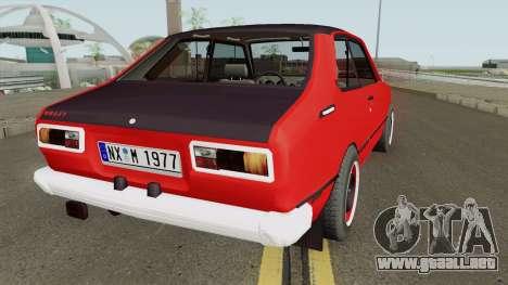 Toyota Corolla Custom 1977 para GTA San Andreas