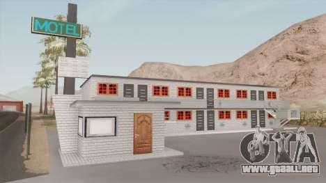 Motel Retextured para GTA San Andreas